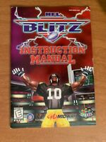NFL Blitz N64 Nintendo 64 Instruction Manual Booklet Book ORIGINAL