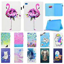 For iPad 2 3 4/Air/Mini/Pro 10.5'' Pattern Magnetic Card Leather Stand Flip Case