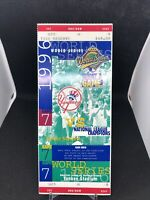 1996 world series ticket stub yankee stadium JETER first world series very rare