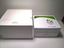 ULTRA RARE OMEGA SPEEDMASTER - SEAMASTER OLYMPIC GAME RIO 2016 WATCH BOX LIMITED