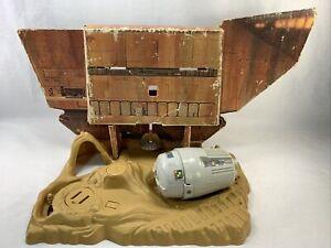 Star Wars Vintage Kenner Land of the Jawas 1979 Playset Paper Display Jawa