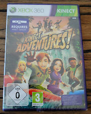 Jeu KINECT ADVENTURES sur Xbox 360 Kinect NEUF sous blister VF