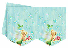 Disney Tinkerbell Birthday Party Plastic Tablecover Tablecloth - FREE DELIVERY