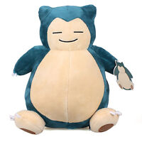 "New 11"" 28Cm Licensed Pokemon Snorlax Plush Toys Soft Stuffed Animal Doll Gift"