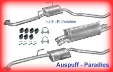 Auspuffanlage Abgasanlage Auspuff Opel Omega B 2.5 V6 & 3.0 MV6 Caravan + Kit
