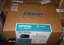 "€ 575+IVA QNAP TX-500P 5-Bay Thunderbolt 2 Expander SATA 2,5""/3,5"" for TVS-871T"