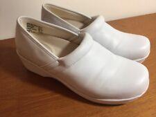 Safe T Step Clogs,Occupational Shoes Women's Size US 9.5 Eur 42  White Nurses