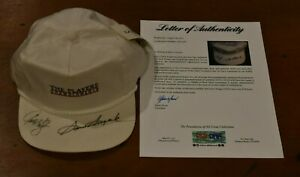 Rare SAM SNEAD and Greg Kraft Signed The Players Izod Brand New Hat-PSA Letter