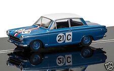 C3670 Scalextric Slotcar Ford Cortina GT 1964 Bathurst Ian & Leo Geoghegan Neu