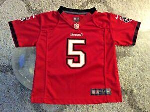 Tampa Bay Buccaneers #5 Josh Freeman Red Jersey Toddler Medium Nike