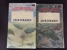 The Fellowship of the Ring/The Two Towers, J R R Tolkien (PB, 1985)
