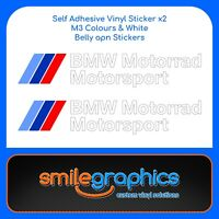 BMW S1000RR Motorrad Motorsport decals belly pan