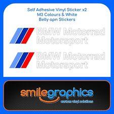 BMW S1000RR Motorrad Motorsport decals belly pan