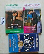 LOTTO 3 HARMONY NORA ROBERTS + CAROLE MORTIMER + BARBARA MCMAHON