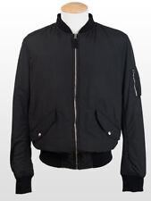 New  Dolce & Gabbana Black Jacket Retail $950 Size 52