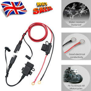 12v USB Power Socket Waterproof Motorbike Adapter Charger Outlet Motorcycle
