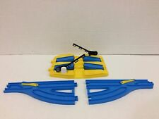 Thomas Train Double Road Crossing Track by Tomy for Motorized Trackmaster Trains