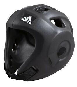 Adidas Kopfschutz Adizero schwarz, S. Kickboxen, Taekwondo. WTF-WAKO zugelassen