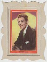 Danny Kaye 1950s Guillen PAPER STOCK Trading Card in Cardboard Frame E2