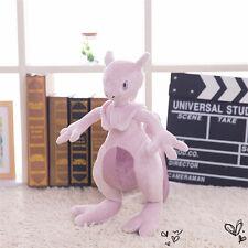 """14"""" Mewtwo Pokemon Center Pocket Monster Plush Toy Anime Stuffed Doll Kids Gift"""