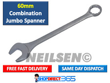 60mm Jumbo Combination Spanner 650mm Long Heavy Duty Industrial Hand Tool CT2782