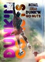 Dunk N GO-NUTS MICHAEL JORDAN CUSTOM  TRANSPARENT BACKGROUND-SEE THRU