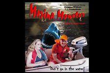 MARINA MONSTER - 72 MIN. Hungry teenage SHARK Campy B-movie FEATURE FILM