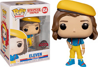 Eleven in Yellow Outfit Stranger Things 3 Funko Pop Vinyl New in Box