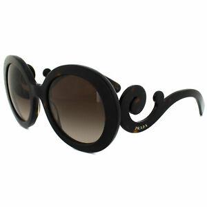 Prada Sunglasses 27NS 2AU6S1 Dark Havana Brown Gradient