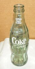 VINTAGE COCA COLA COKE BOTTLE HOBBLE SKIRT 6 1/2 FL OZ QUINCY FLORIDA