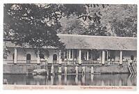 1908 Netherlands Indies RPPC Postcard Cover to Prague Austria Colonial Building