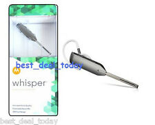 OEM Motorola Whisper Bluetooth Headset Earpiece HZ850 HZ-850 89593N Multipoint