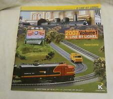 Catalog: 2 K-Line by Lionel Catalogs, 2007