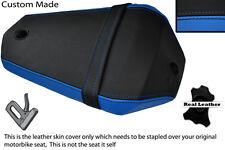 Negro Y Azul Custom Fits Yamaha R 125 08-12 Yzf Trasero necesidades cubierta de asiento