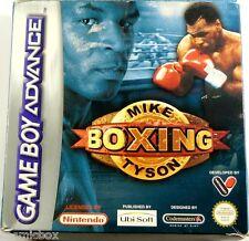 GAME BOY ADVANCE & DS jeu video MIKE TYSON BOXING boxe console Nintendo en boite