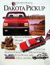 1995 Dodge Dakota pickup truck new vehicle brochure