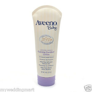 Aveeno Baby Soothing Calming Comfort Lotion Lavender & Vanilla 8 oz (227 g)