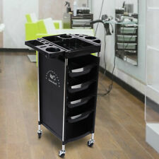 6 Layers Multi-Functional Hair Salon Tool Storage Cart Trolley with Wheels