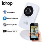 idrop Wifi Camera 720p Wireless HD 720P Smartphone Audio Baby Monitor Indoor