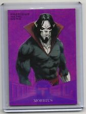 2017 Fleer Ultra Spider-Man Morbius Precious Metal Gems MM28 Purple 5/5