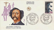 FRANCE FDC - 907 1823 2 BARBEY D'AUREVILLY 16 11 1974 - LUXE