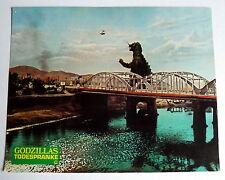 GODZILLAS TODESPRANKE / YONGARI * Aushangfoto #1 - German Lobby Card 1972 SCI-FI