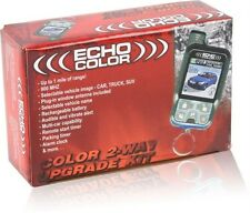 Audiovox ECHOCOLOR Voice / Vibrating Auto Alarm Systems & Rechargeable Battery