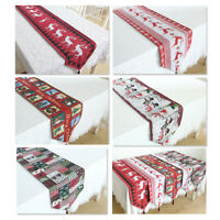 33x180cm Christmas Table Runner Mats Placemats And Coasters Red And White Plaid