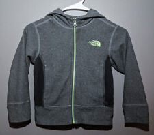 North Face Lightweight Fleece Jacket with Hood, Gray Size XXS
