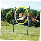 Pet Outdoor Agility Ring, Dog/Puppy Exercise & Agility Training Jumping Ring