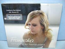 Franziska DIE LIEBE IST EIN NIEMANDSLAND,LE Fan-Ed w/Bonus CD, 2CD DA Music New