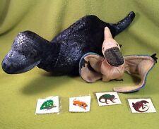 Ty 2000 Beanie Babies Swoop Pterodactyl-Russ Berrie Plato Plush Dinosar Lot Vtg