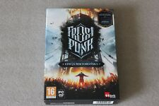 FROSTPUNK SPECIAL VICTORIAN EDITION PC DVD STEAM NEW SEALED ENGLISH ARTBOOK