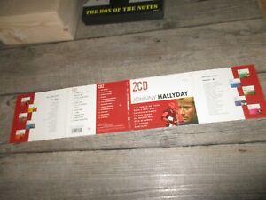 Johnny Hallyday-Rare Collector digipack-Double Cd s-Jamais tourné-Universal 1999